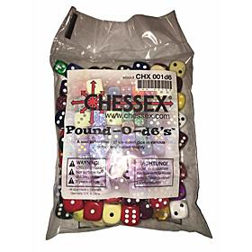CHESSEX - Bolsa Dados Pound-O-Dice 6's