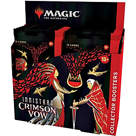 Magic the Gathering - Innistrad Crimson Vow Collector Booster Display (Inglés)