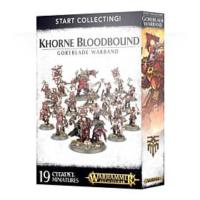 WHAOS - Start Collecting! Khorne Bloodbound Goreblade Warband