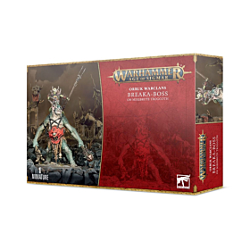WHAOS - Orruk Warclans Breaka-Boss on Mirebrute Troggoth