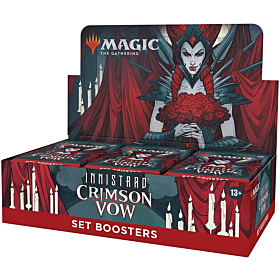 Magic the Gathering - Innistrad Crimson Vow Set Booster Display (Inglés)
