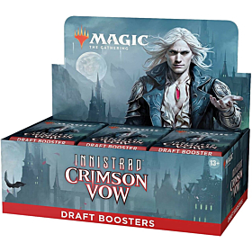 Magic the Gathering - Innistrad Crimson Vow Draft Booster Display (Inglés)