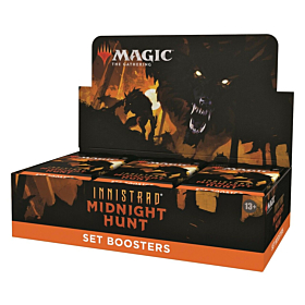 Magic the Gathering - Innistrad Midnight Hunt Set Booster Display (Inglés)
