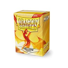 Dragon Shield - Micas STND Yellow Matte c/100