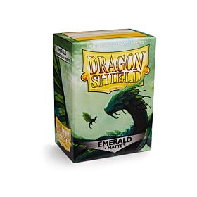 Dragon Shield - Micas STND Emerald Matte c/100