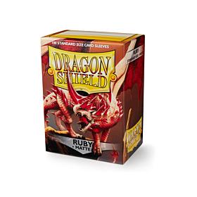 Dragon Shield - Micas STND Ruby Matte c/100