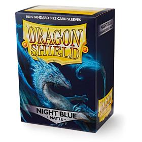 Dragon Shield - Micas STND Night Blue Matte c/100