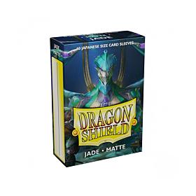 Dragon Shield - Micas Small JPN Size Jade Matte c/60