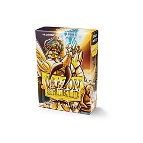 Dragon Shield - Micas Small JPN Size Gold Matte c/60