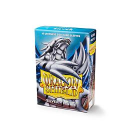 Dragon Shield - Micas Small JPN Size Silver Matte c/60