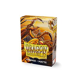 Dragon Shield - Micas Small JPN Size Orange Matte c/60