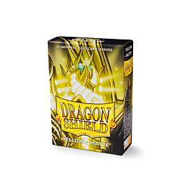 Dragon Shield - Micas Small JPN Size Yellow Matte c/60