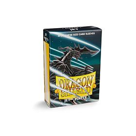 Dragon Shield - Micas Small JPN Size Jet Matte c/60