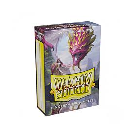 Dragon Shield - Micas Small JPN Size Pink Diamond Matte c/60