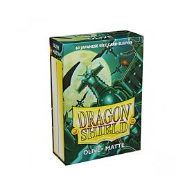 Dragon Shield - Micas Small JPN Size Olive Matte c/60