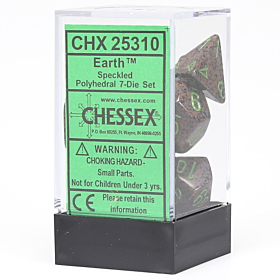 CHESSEX - Dados Poliedricos Earth