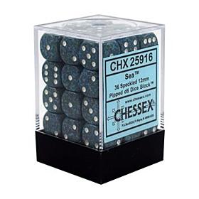 CHESSEX - Dados Sea 12mm  c/36