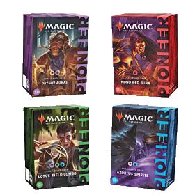 Magic the Gathering - Pioneer Challenger Decks 2021 Set de 4