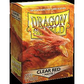 Dragon Shield - Micas STND Clear Red Matte c/100