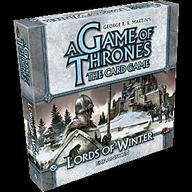 JUEGOS DE MESA - A Game of Thrones TCG Lords of Winter Expansion (Inglés)