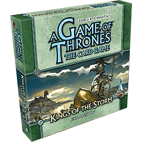 JUEGOS DE MESA - A Game of Thrones TCG Kings of the Storm Expansion Inglés