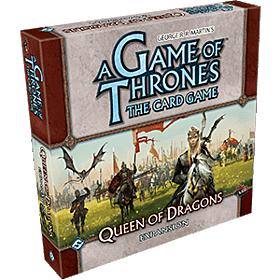 JUEGOS DE MESA - A Game of Thrones TCG Queen of Dragons Expansion Inglés