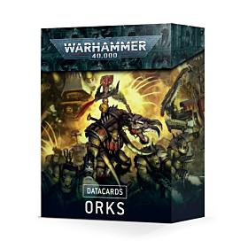 CARTAS - WH40K Datacards Orks (Inglés)