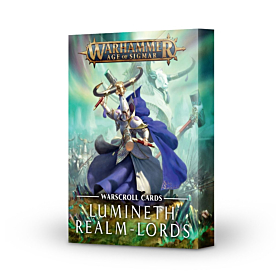 Warscroll Cards - Lumineth Realm Lords (Ingles)