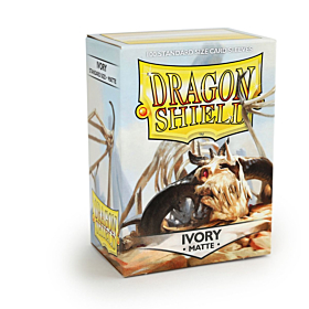 Dragon Shield - Micas STND Ivory Matte c/100