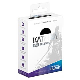 ULTIMATE GUARD - Katana Sleeves Standar Size Negro (100)