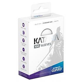 ULTIMATE GUARD - Katana Sleeves Standar Size Blanco (100)