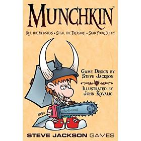 JUEGOS DE MESA - Munchkin (Ingles)