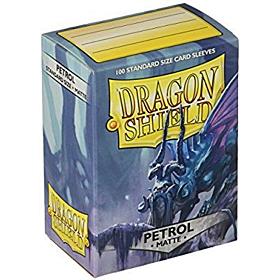 Dragon Shield - Micas STND Petrol Matte c/100