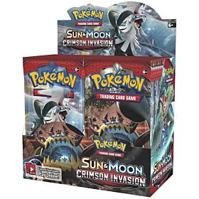 POKÉMON - Sun & Moon Crimson Invasion Box c/36 sobres