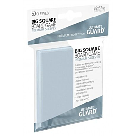 ULTIMATE GUARD - Premium Sleeves Big Square 50ct. (82x82)