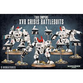 WH40K - Tau Empire XV8 Crisis Battlesuits