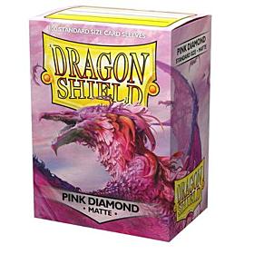 Dragon Shield - Micas STND Pink Diamond Matte c/100