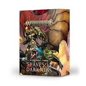 Warscroll Cards - Slaves to Darkness  (Español)