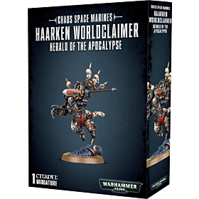 WH40K - Chaos Space Marines Haarken Worldclaimer Herald of the Apocalypse