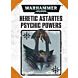 CARTAS - WH40K Psychic Powers Heretic Astartes (Ingles)