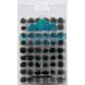 GEEK GAMING - 6mm Self Adhesive Static Grass Tufts x 100 Cornflower Blue